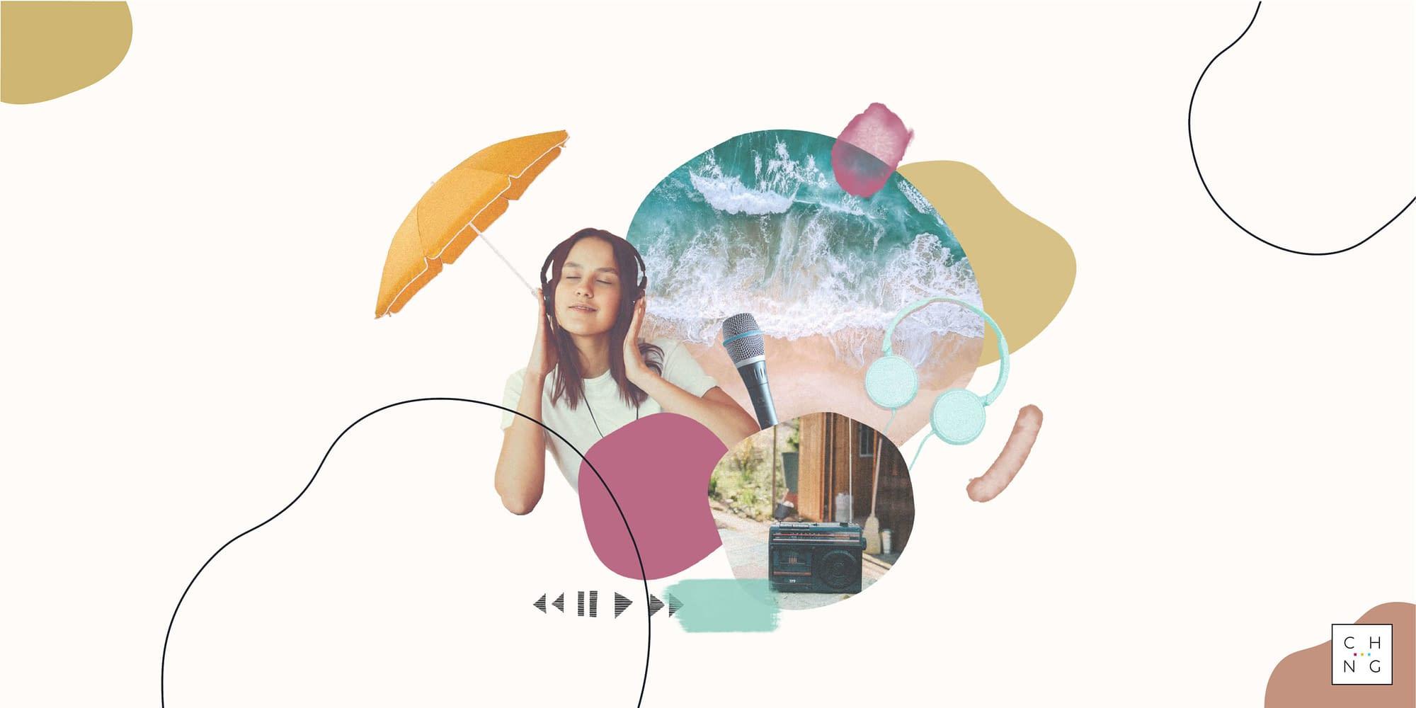 Podcasts de l'été - illustration